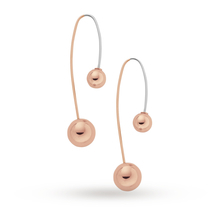 Skagen Ladies Elin Rose Gold Plated Earrings SKJ0856791