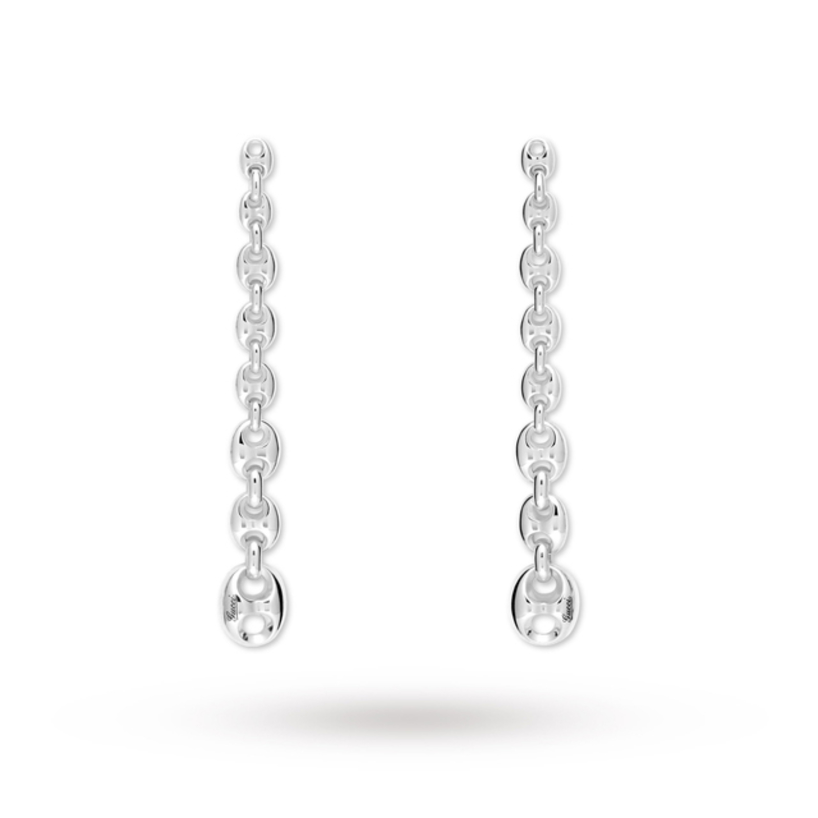 Gucci Marina Silver Drop Earrings