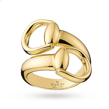 Gucci Horsebit Ring in 18 Carat Yellow Gold - Ring Size M