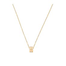 Gucci Icon Blossom 18ct Yellow Gold and Enamel Pendant
