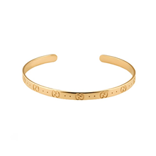 Gucci Icon Blossom 18ct Yellow Gold Bangle
