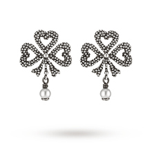 Gucci Bow Motife Pearl Earrings