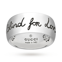 Gucci Exclusive Blind For Love 9mm Ring - Large