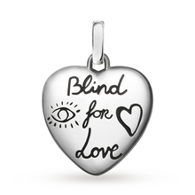 Gucci Blind For Love Heart Bird Charm
