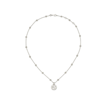 Gucci Interlocking G Necklace in Silver
