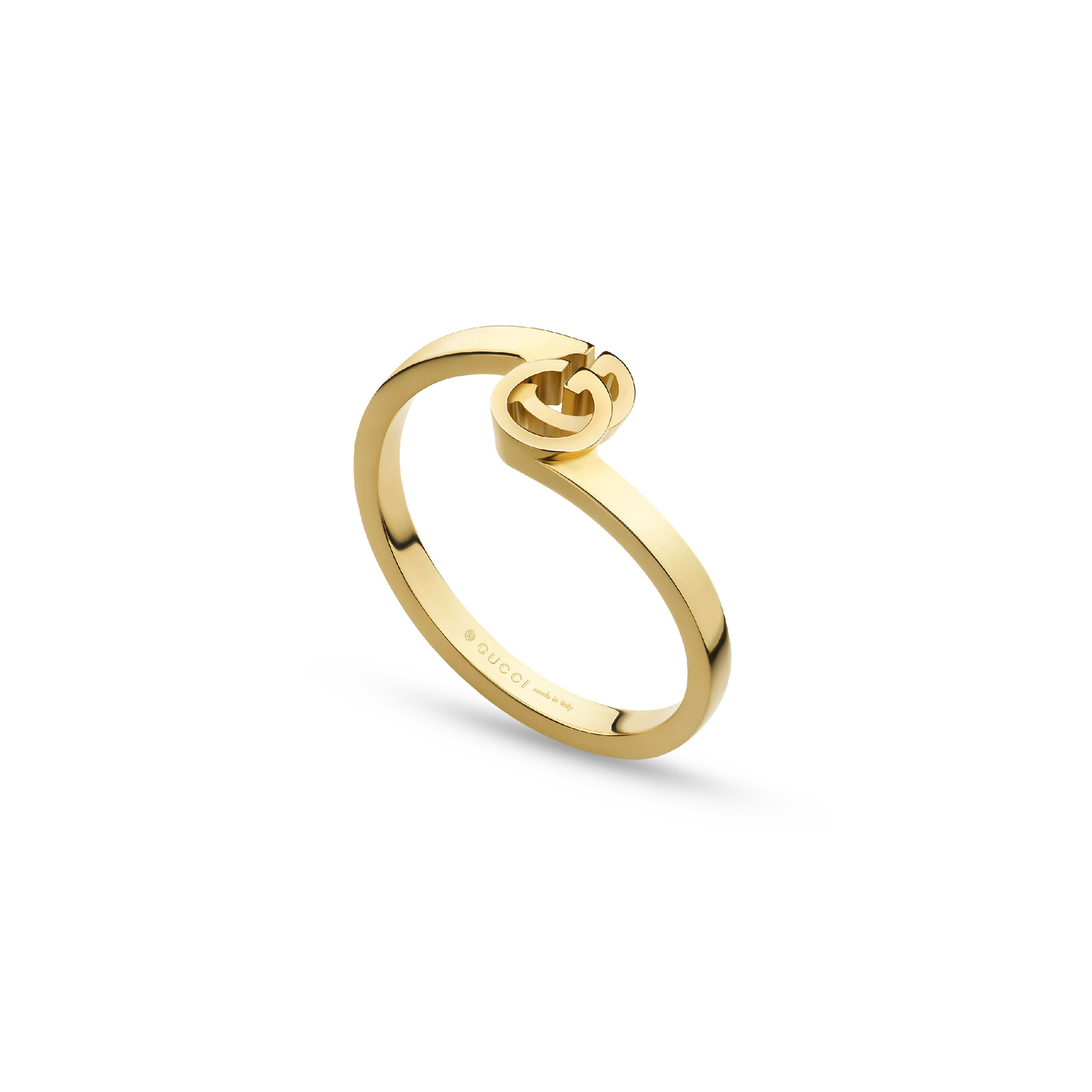 Gucci Running G Ring in 18ct Yellow Gold - Ring Size N
