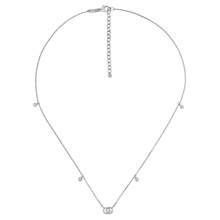 Gucci Running G 18ct White Gold & Diamond Necklace