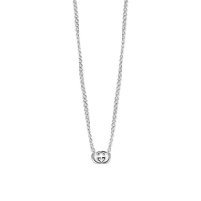 Gucci Necklace with interlocking G in Silver