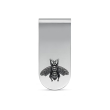 Gucci Bee Money Clip in Silver