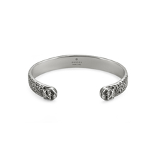 Gucci Gatto Bracelet in Silver with Feline Head