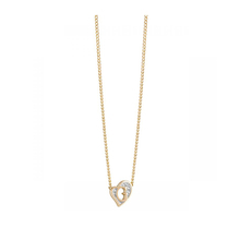Guess Jewellery UBN71537 G Heart Mini Gold Tone Necklace