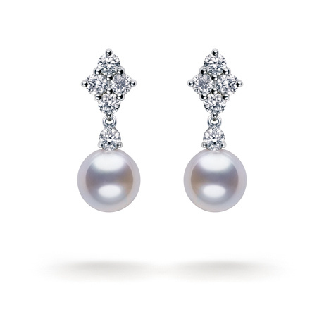 Mikimoto Classic Elegance Drop Earrings