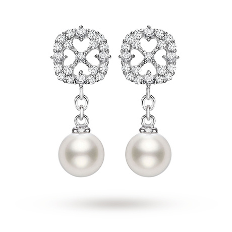 Mikimoto Cherish Pearl Earrings