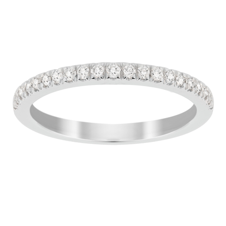 Jenny Packham Brilliant Cut 0.23 Carat Total Weight Eternity Ring in 18 Carat White Gold