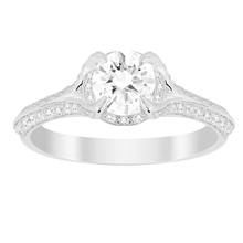 Jenny Packham Brilliant Cut 1.10 Carat Total Weight Solitaire Diamond Ring in 18 Carat White Gold