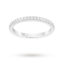 Jenny Packham Brilliant Cut 0.23 Carat Total Weight Eternity Ring in Platinum