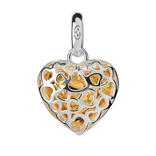 Links Of London Caged Heart Charm