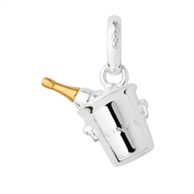 Links Of London Champagne Bucket Bi-col Charm
