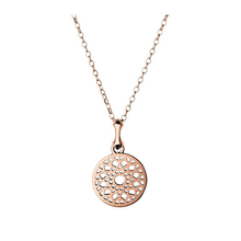 Links of London Timeless Rose Gold Plated Disc Pendant 5024.1409