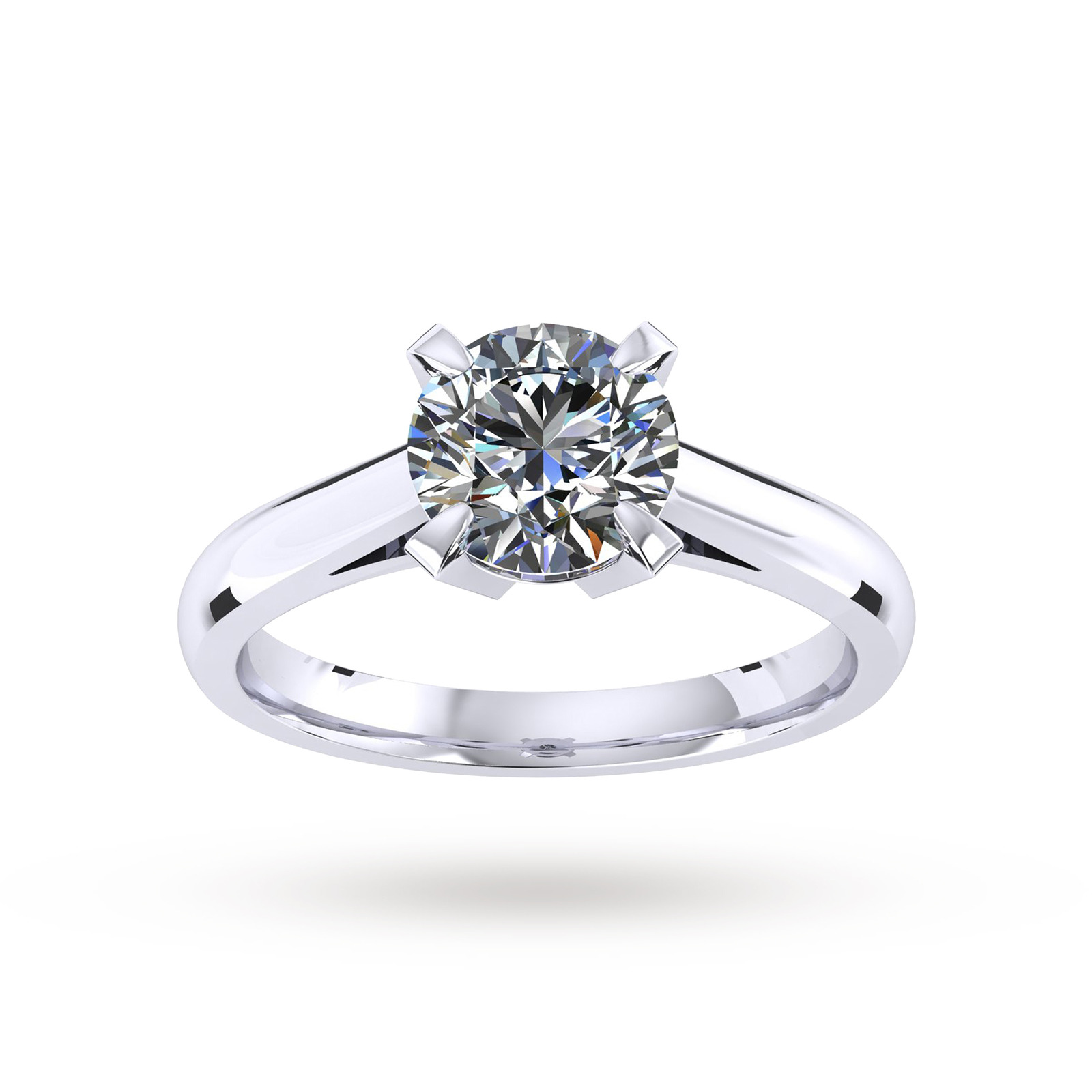 Belvedere Engagement Ring 0.25 Carat