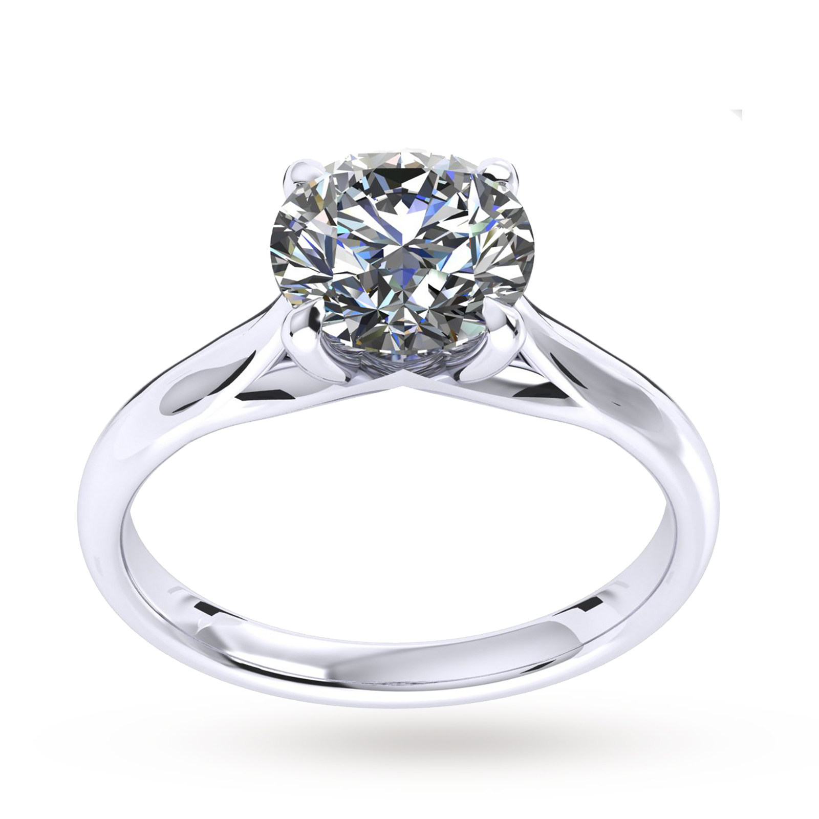 Ena Harkness Engagement Ring 0.25 Carat - Ring Size J