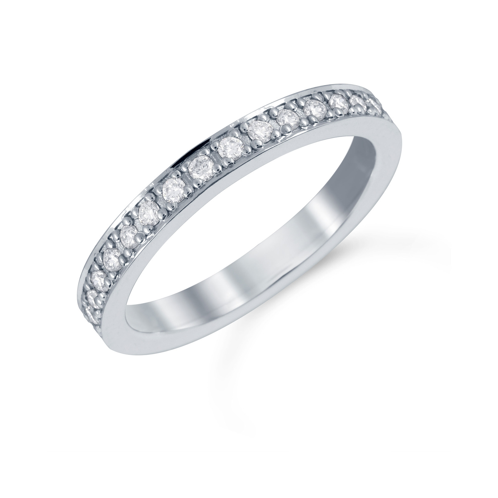 Mappin & Webb Platinum 0.19cttw Diamond Boscobel Wedding Ring