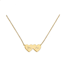 Merci Maman You & Me Gold Plated Necklace