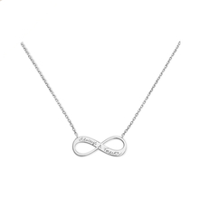 Merci Maman Always & Forever Sterling Silver Necklace