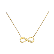 Merci Maman Always & Forever Gold Plated Necklace