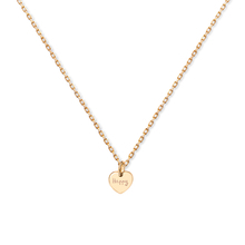 Merci Maman 18ct Gold Pated Be Happy Pendant