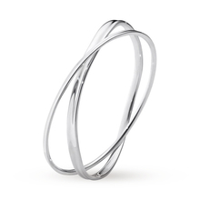 Georg Jensen Vivianna Marcia sterling silver Twist Bangle