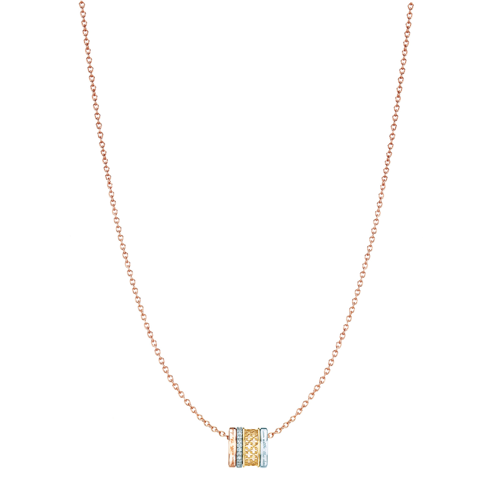 Birks Muse 0.14ct Diamond Stacked Pendant