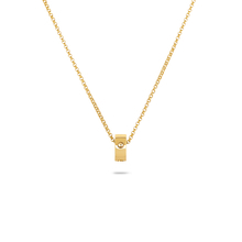 Roberto Coin Symphony 18ct Yellow Gold Bead Pendant With Round Design