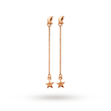 ChloBo Moon & Star Dangle Earrings