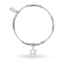 ChloBo Mini Noodle Cube Small Open Star Bracelet