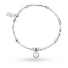 ChloBo Mini Noodle Sparkle Rice Love Heart Bracelet