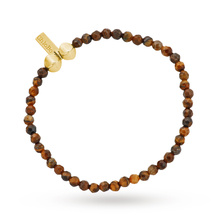 ChloBo Mens Tigers Eye Small Bracelet