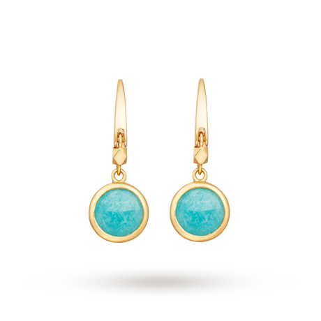 For Her - Astley Clarke Mini Round Stilla Earrings - 38031YGEEOS