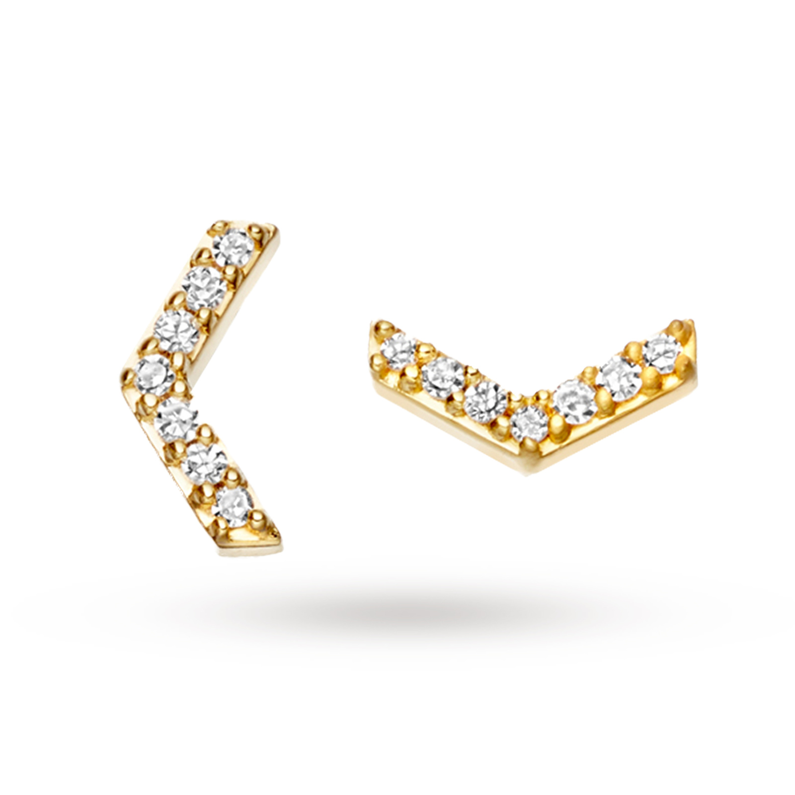 Astley Clarke Yellow Varro Stud Earrings
