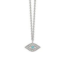 Astley Clarke Mini Evil Eye Biography Pendant