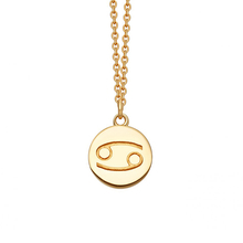 Astley Clarke Cancer Zodiac Biography Pendant