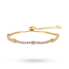 CARAT* Yellow Gold Plated Millennium Bracelet
