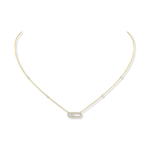 Messika 18ct Yellow Gold Move Classique Uno Necklace