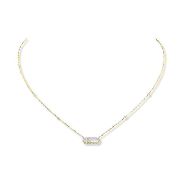 Messika Move Classique Uno Diamond Necklace