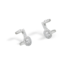 Messika 18ct White Gold Glam'Azone Diamond Earring Cuff