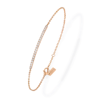 Messika 18ct Rose Gold Gatsby Diamond Bracelets