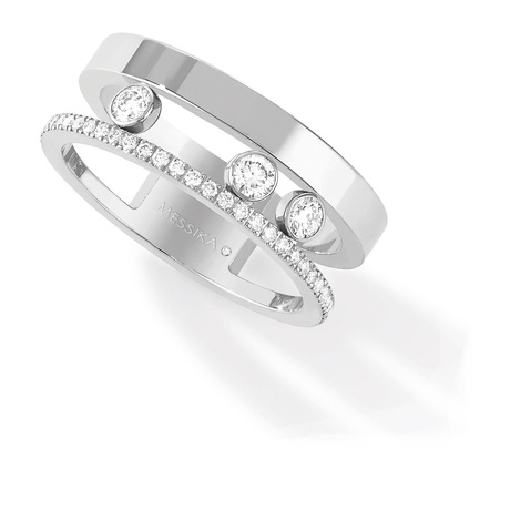 Messika Move Joaillerie 0.30ct Diamond Set Ring in 18ct White Gold