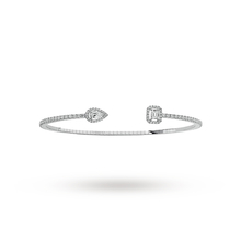 Messika 18ct White Gold My Twin Skinny Medium Bracelet