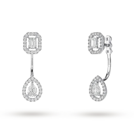 Messika 18ct White Gold My Twin Earrings