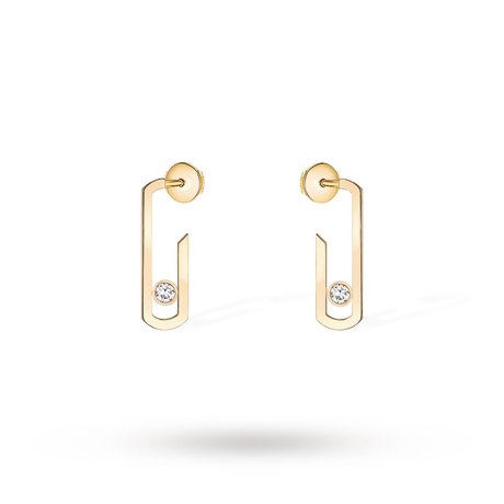 Messika Move Addiction Diamond Plain Earrings